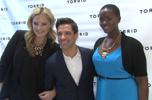 5f63450d7c0 Video coverage of TORRID flagship opening on Chicago s State Street ...